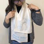 【藍天大地 X 虹映嚴選】100%有機棉紗布運動巾 *限量特製版*