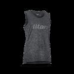 太肯 titan 運動背心 -麻灰色