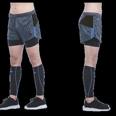 THot®發燒紗二合一超輕量短褲 105g-Gray
