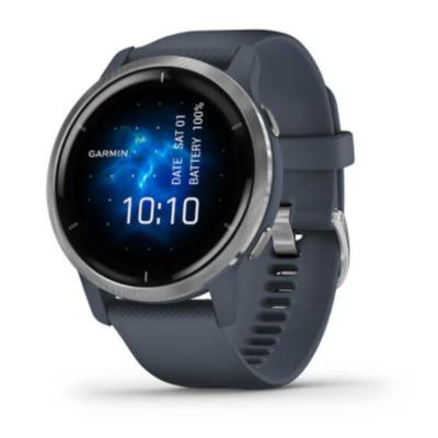 【GARMIN】VENU 2 AMOLED GPS 智慧腕錶|血氧感測