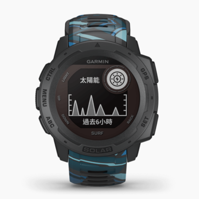【GARMIN 】INSTINCT Solar 本我系列 太陽能GPS腕錶 運動衝浪版