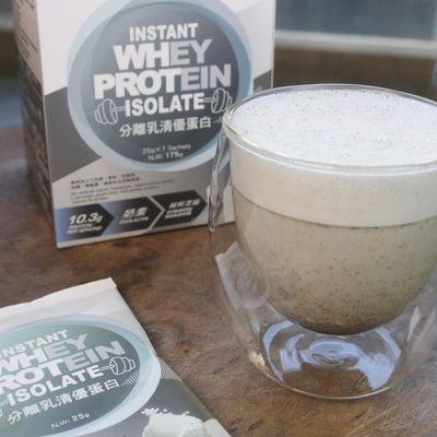 【自然法則】分離乳清優蛋白-純粹芝麻 25g*7包 健身 補充蛋白 奶素可食(兩盒)